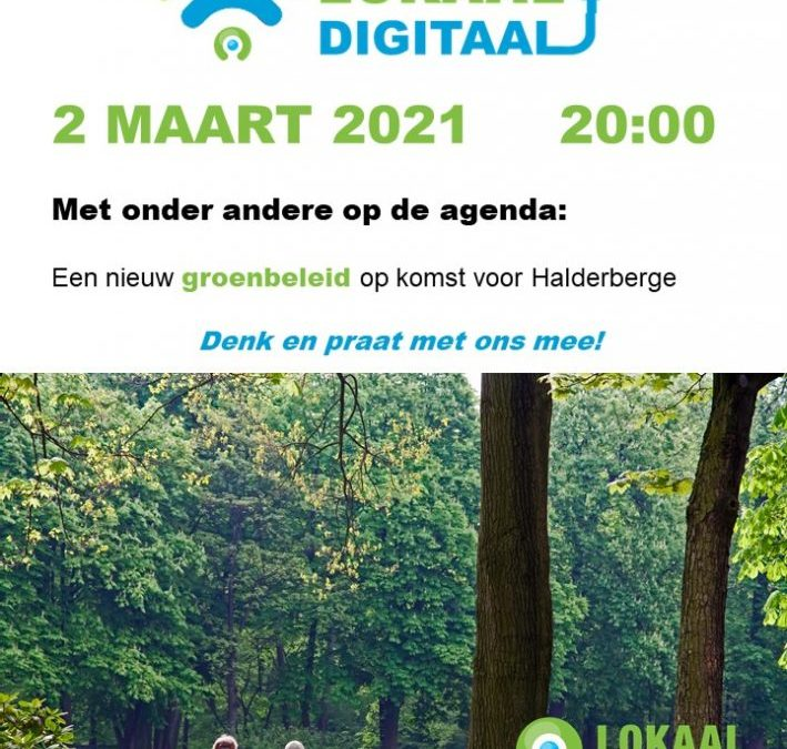 Lokaal Digitaal 2 maart 20.00u